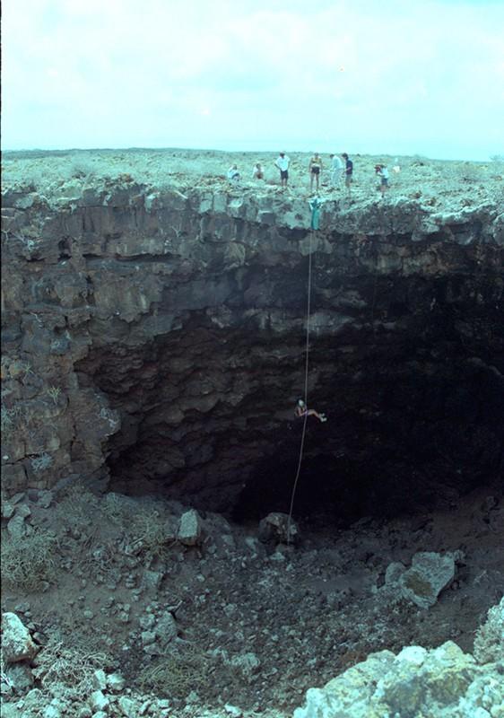 Escalada en la Cueva de las Palomas IV