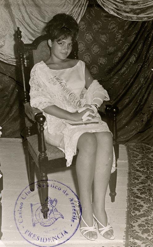 'Reina' del Casino Club Náutico 1961 V
