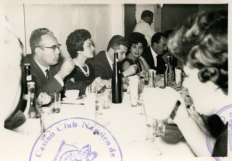 Cena de la directiva del Casino Club Náutico I