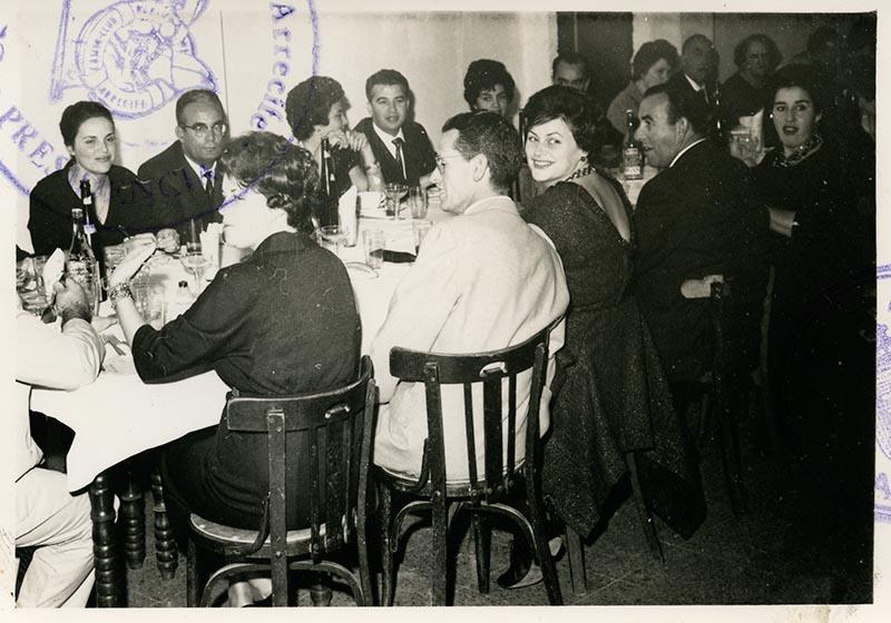 Cena de la directiva del Casino Club Náutico II
