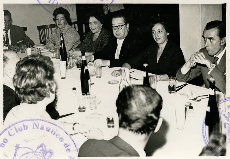 Cena de la directiva del Casino Club Náutico III