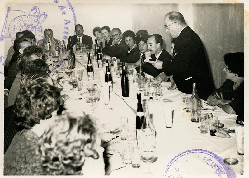 Cena de la directiva del Casino Club Náutico IV