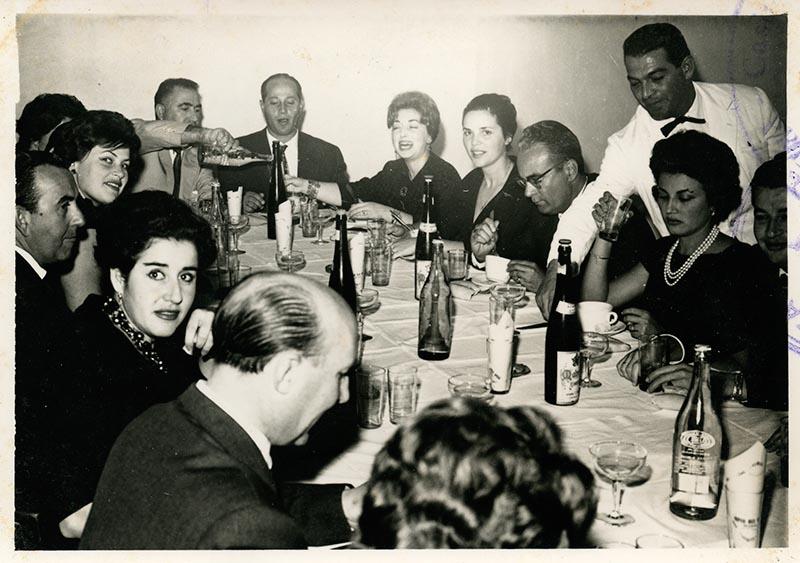 Cena de la directiva del Casino Club Náutico V