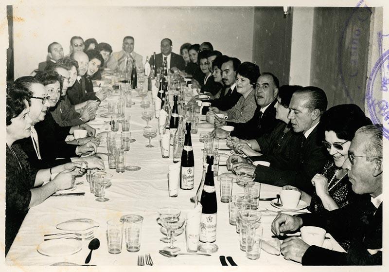 Cena de la directiva del Casino Club Náutico VI