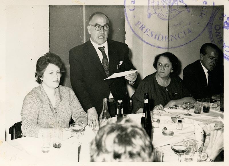Cena de la directiva del Casino Club Náutico VII