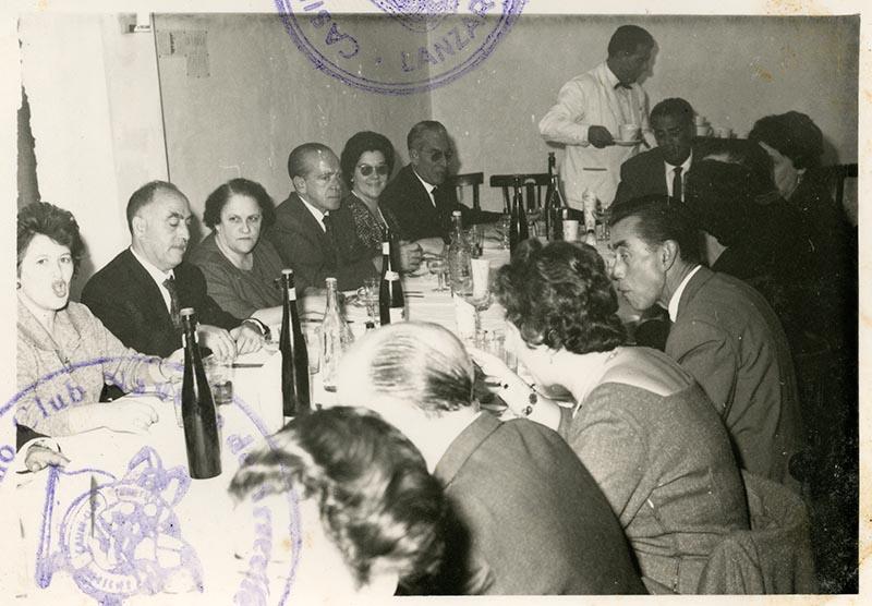 Cena de la directiva del Casino Club Náutico VIII