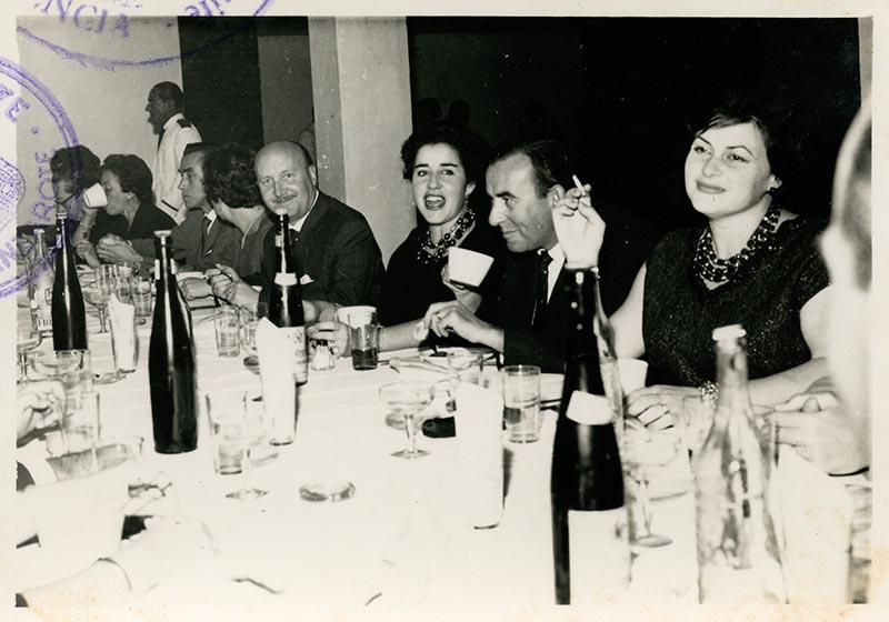 Cena de la directiva del Casino Club Náutico IX