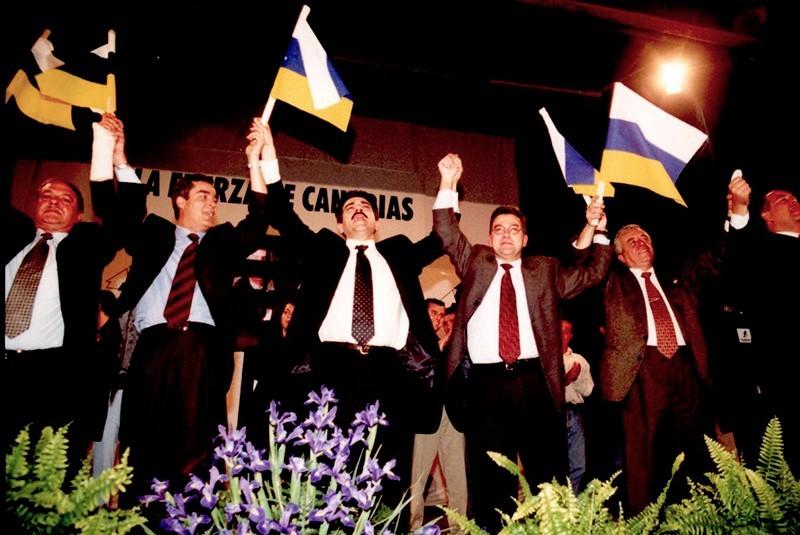 CC durante la campaña electoral de 2000 II