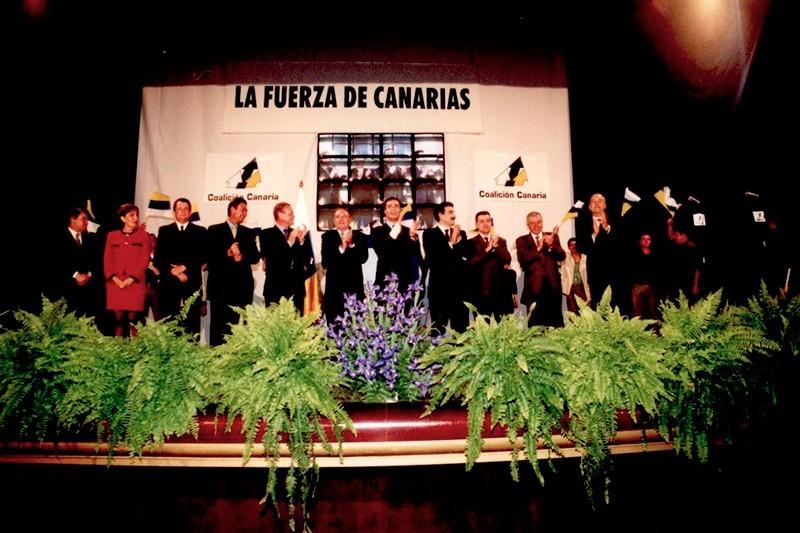 CC durante la campaña electoral de 2000 III