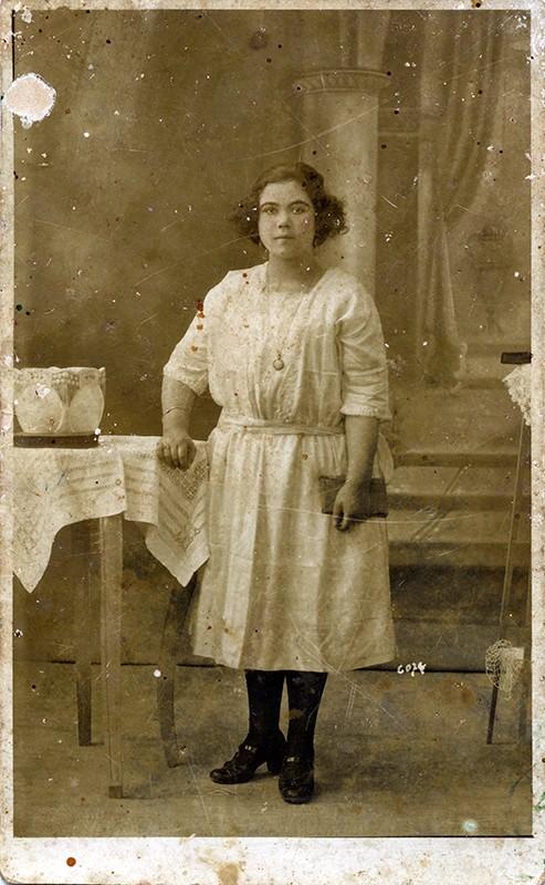 Retrato de Dominga Morales de León I