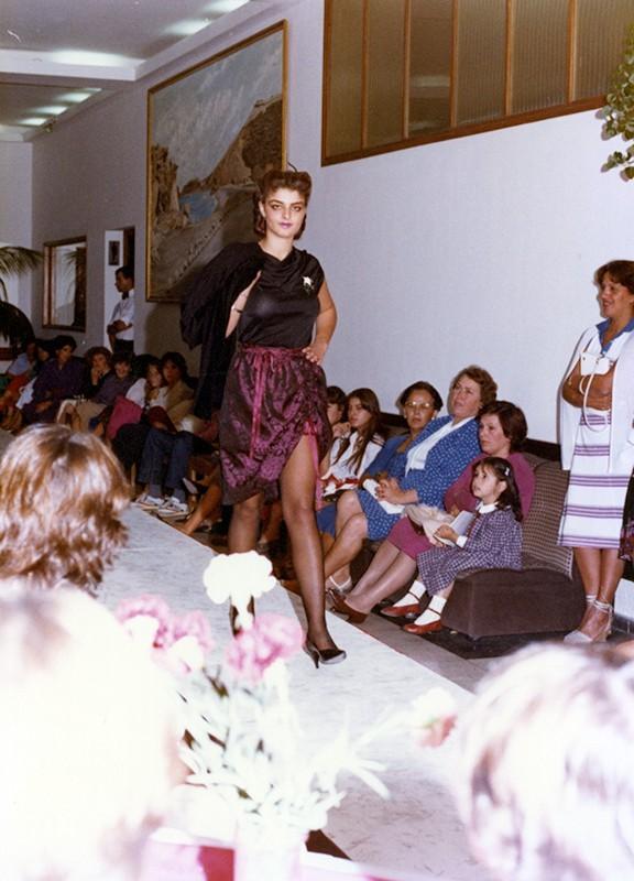 Desfile de moda otoño-invierno XIII