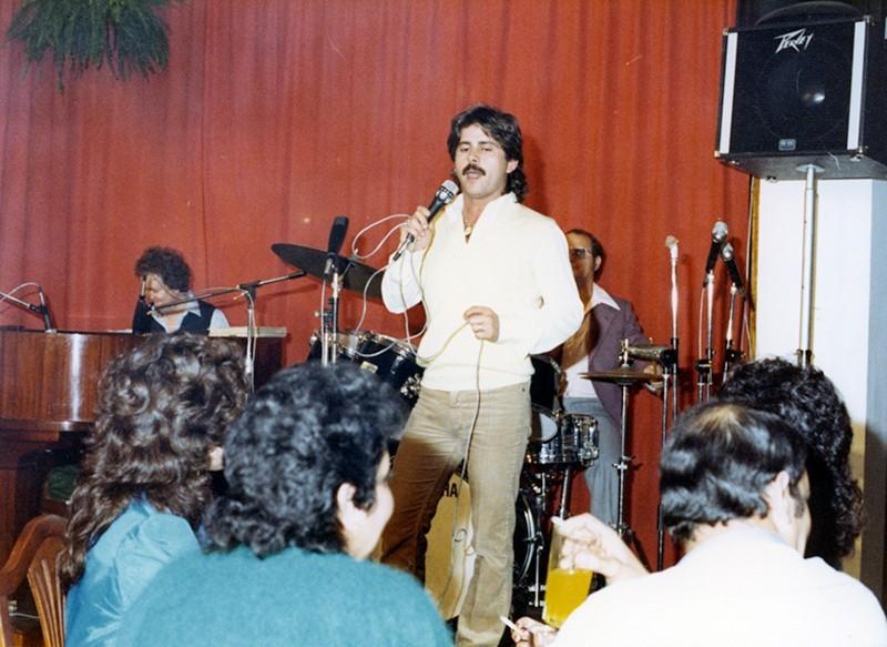Actuación de Juan Perdomo