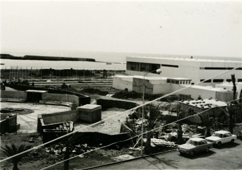 Parque Islas Canarias en construcción