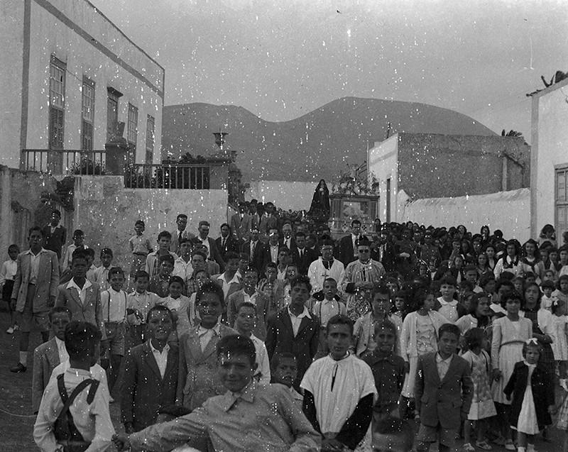 Procesión de Semana Santa en Haría I