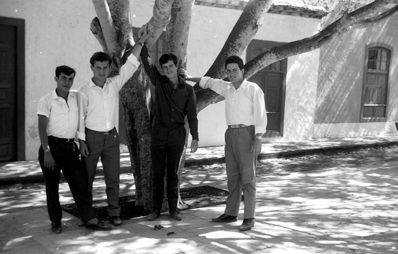 Grupo de jóvenes de Máguez