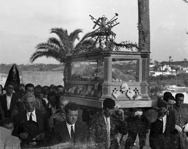 Procesión de Semana Santa en Haría II