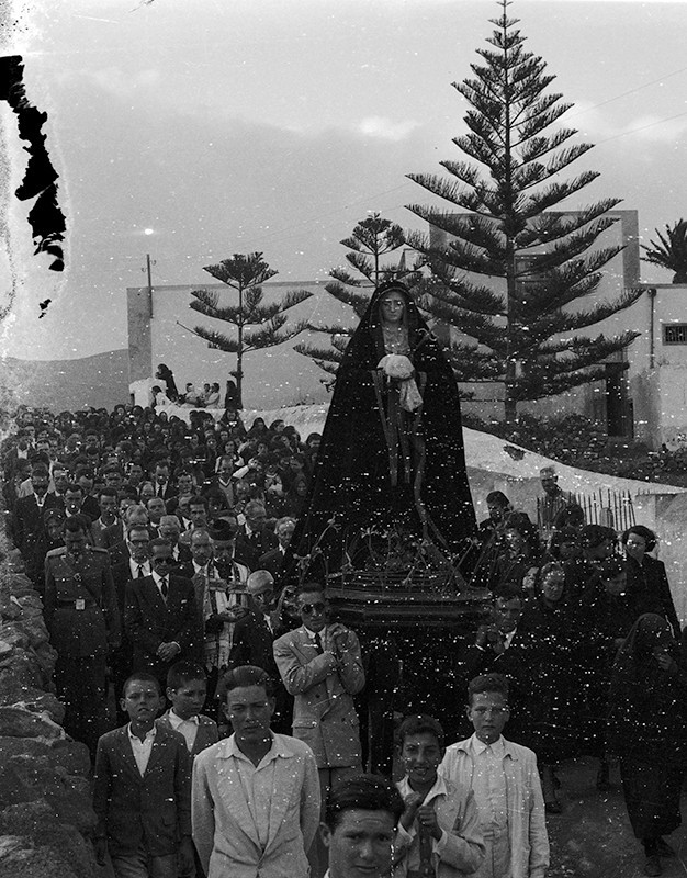 Procesión de Semana Santa en Haría III