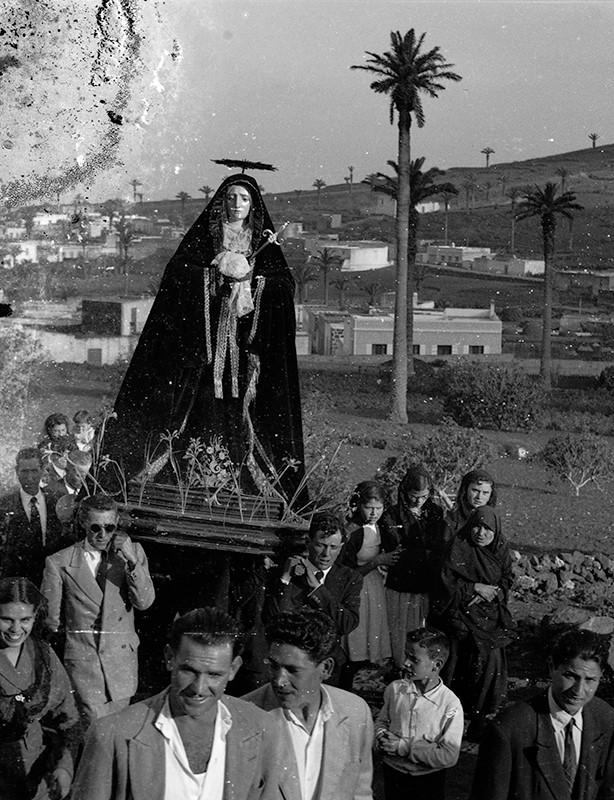 Procesión de Semana Santa en Haría IV