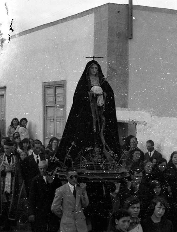 Procesión de Semana Santa en Haría V
