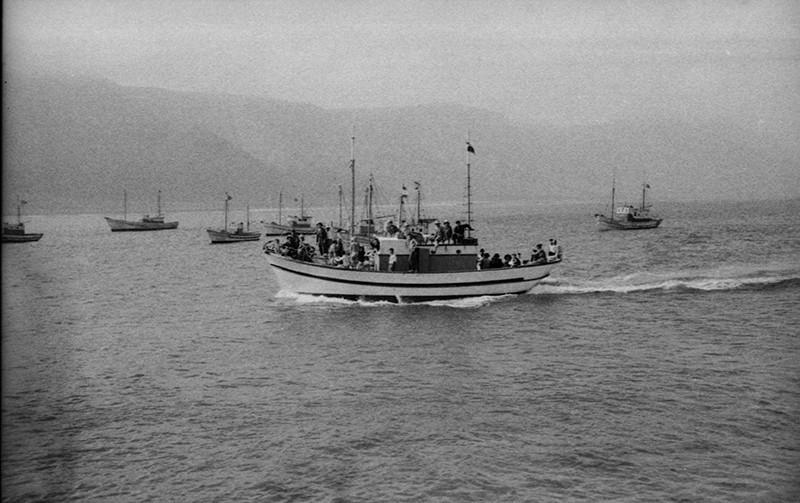 Barcos en El Río I