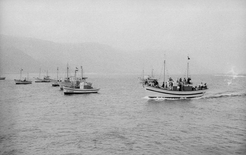 Barcos en El Río II