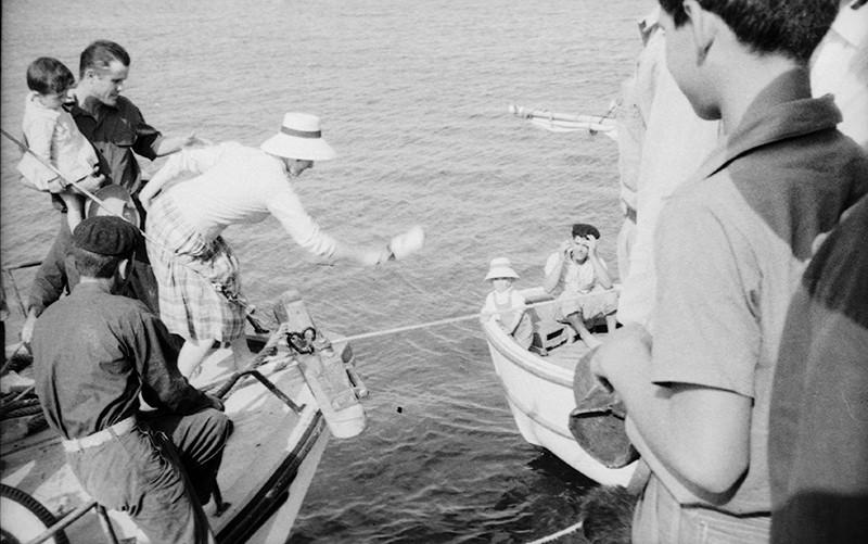 Barcos en El Río III