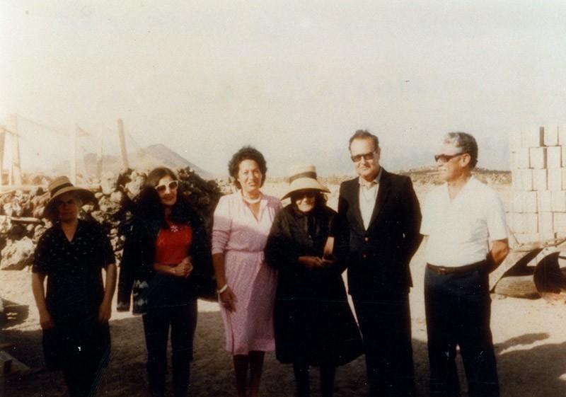 Homenaje del Cabildo a doña Dorotea