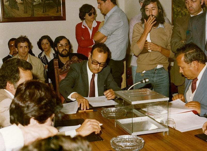 Constitución del Cabildo en 1979 II
