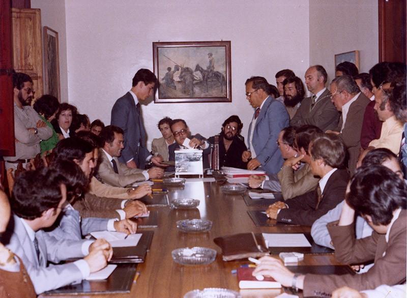 Constitución del Cabildo en 1979 VII