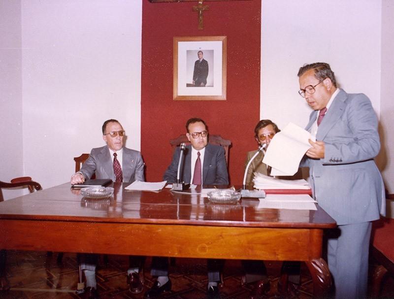 Constitución del Cabildo en 1979 VIII
