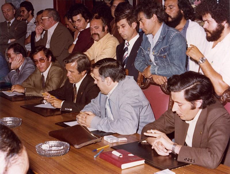 Constitución del Cabildo en 1979 IX