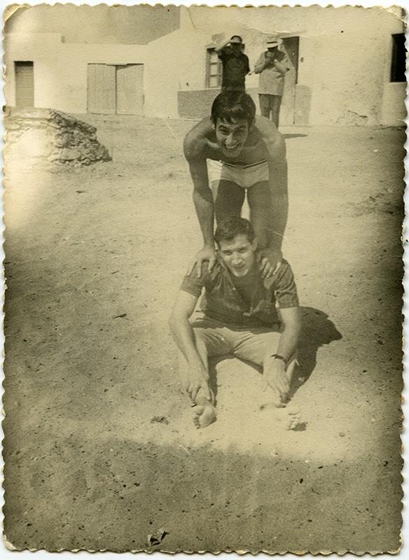 Amigos en La Caleta de Famara II