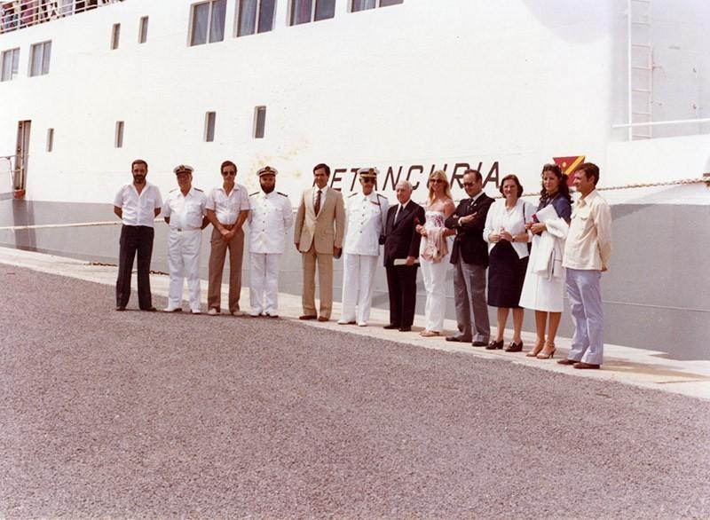 Inauguración de la línea Playa Blanca-Corralejo V