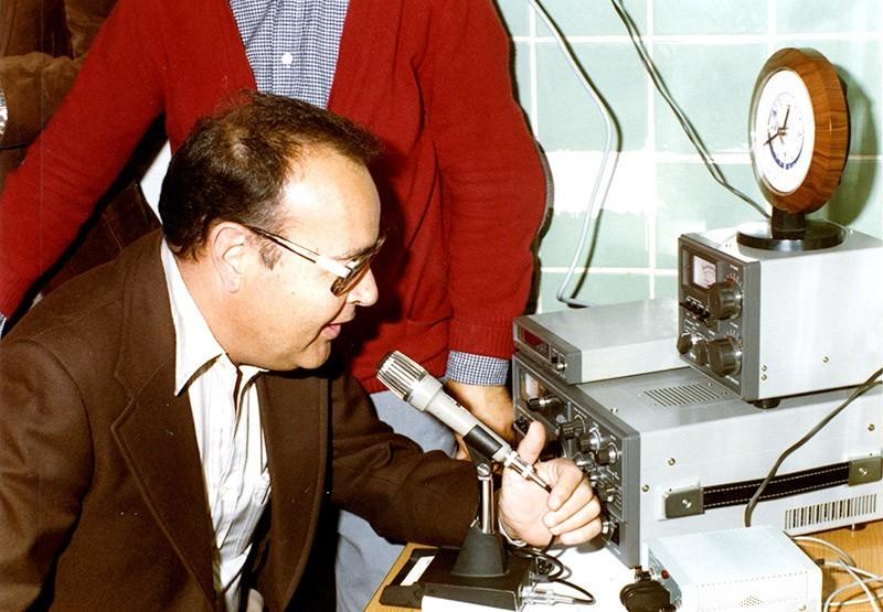 Inauguración de la sede de radioaficionados
