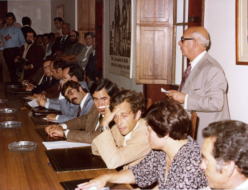 Constitución del Cabildo en 1979 X