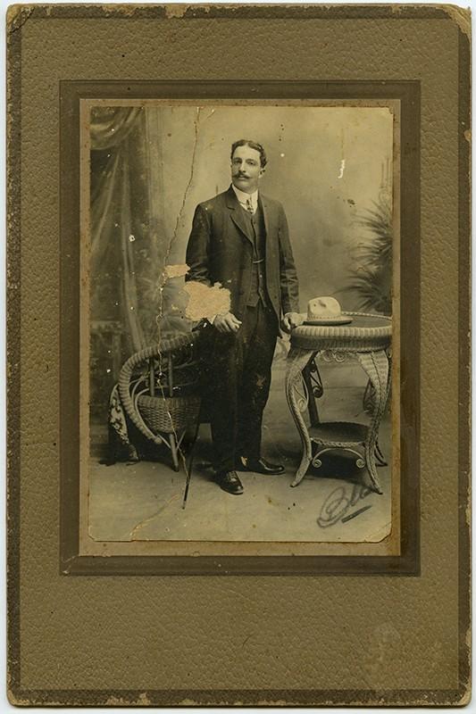 Retrato de Benjamín Martín Betancort