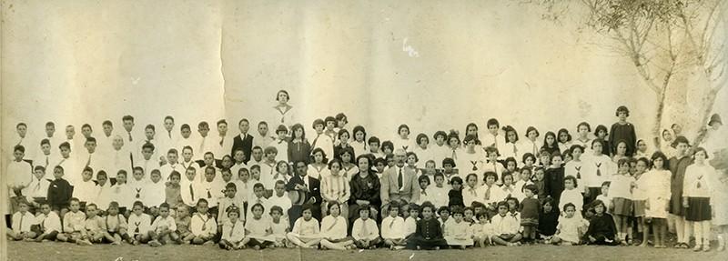 Alumnos y maestros de San Bartolomé