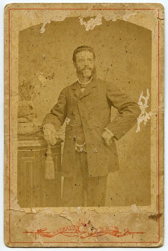 Retrato de Evaristo Martín Martín