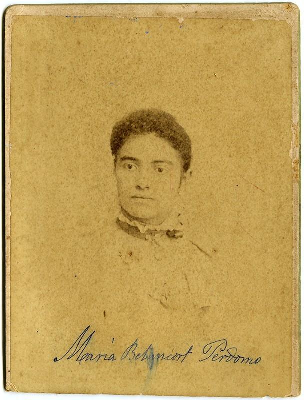 Retrato de María Betancort Perdomo