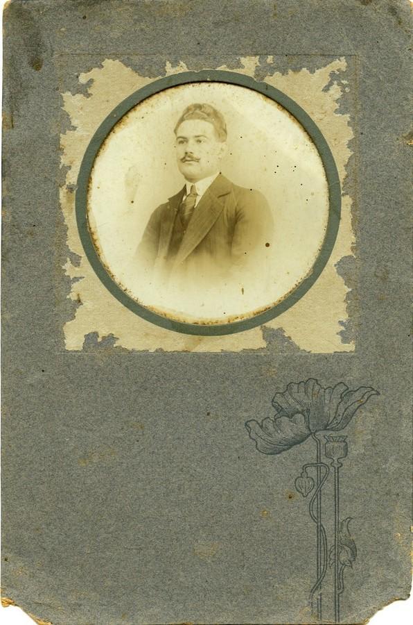 Retrato del poeta Leopoldo Díaz Suárez