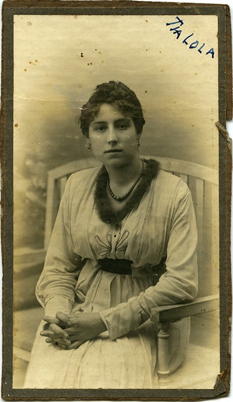 Retrato de Dolores Pallarés