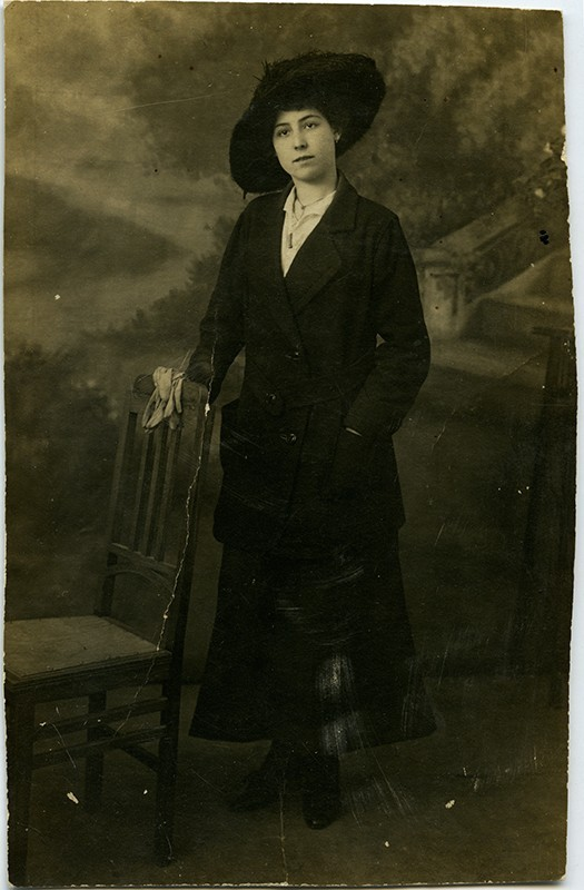 Retrato de Dolores Pallarés López