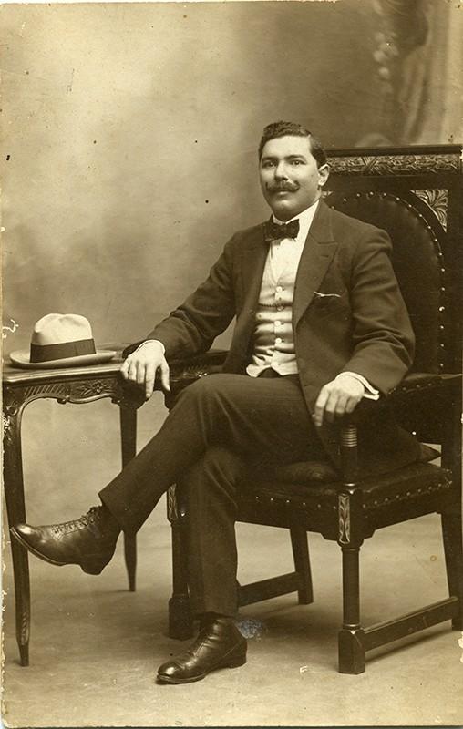 Retrato de Juan Padilla Martínez
