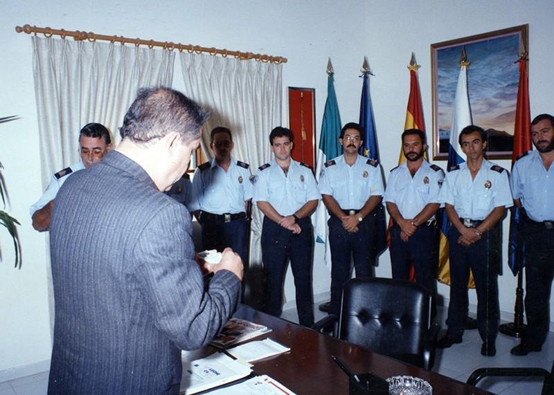 Acto institucional de la Policía Local de Teguise II