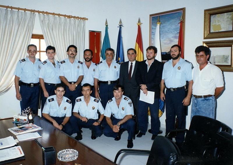 Acto institucional de la Policía Local de Teguise VII