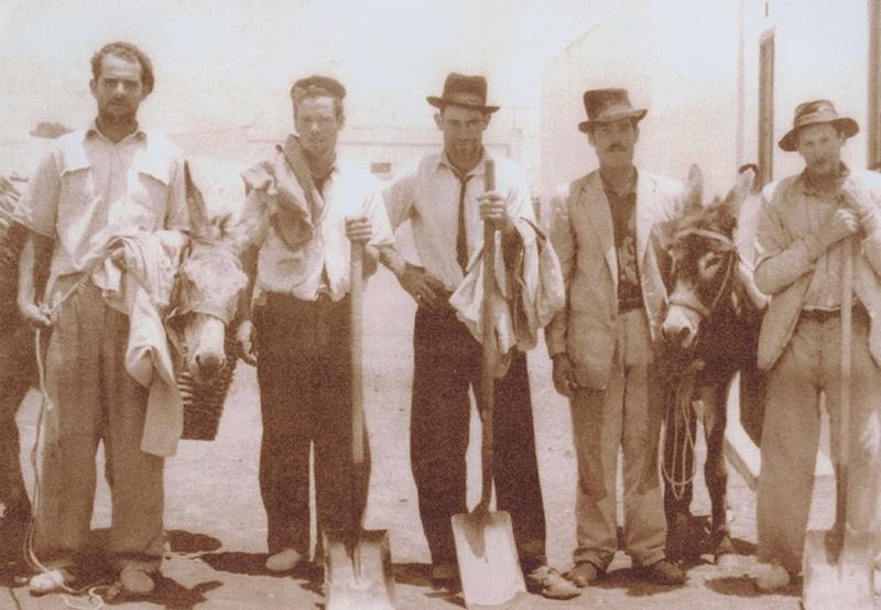 Agricultores de San Bartolomé