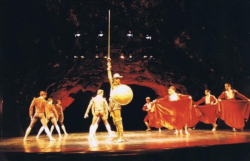 """Representación de """"El Quijote"""" I"""