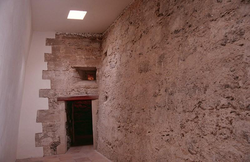 Lateral del Castillo de San Gabriel