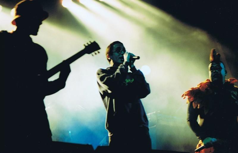 Pechuga Band en San Ginés 2001