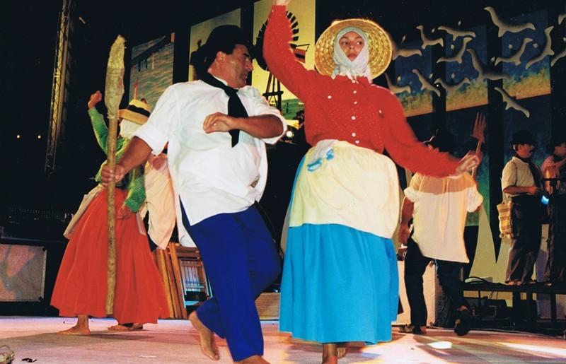 Los Campesinos en San Ginés 2001 II